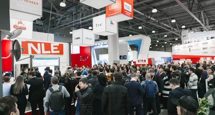 В Москве открылась главная выставка индустрии телевизионной и телекоммуникационной отрасли CSTB. Telecom&Media'2019