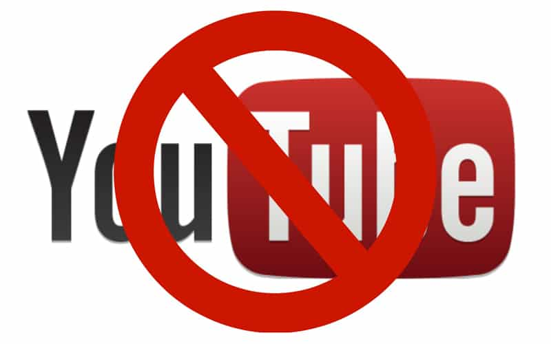 Разработчик тестов Ontarget добивается полной блокировки YouTube