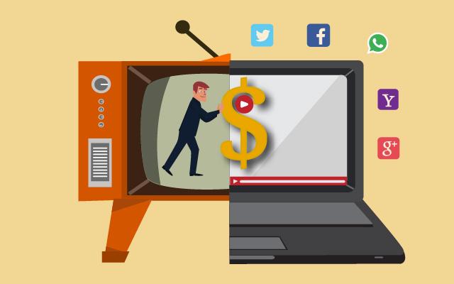 Расходы наинтернет-рекламу превысят половину мировых рекламных затрат в2021 году при общем замедлении рынка