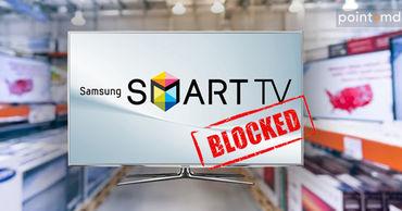 Samsung отключает smart-телевизоры, не предназначенные для продажи в странах СНГ