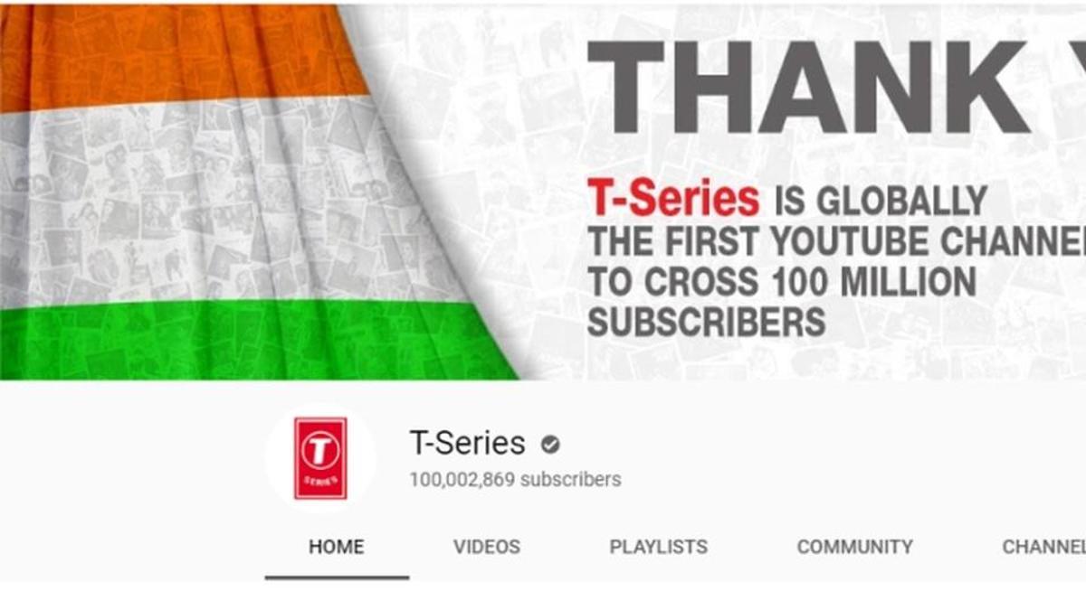 Индийский YouTube -канал первым в мире набрал сто миллионов подписчиков